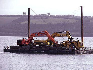JML35 cargo deck barge