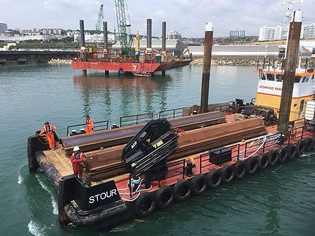 Multicat vessel Stour at Brighton Marina