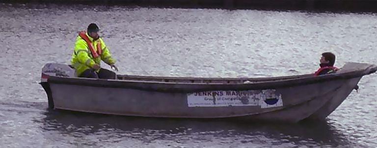 Alu-Dory 5.5m Aluminium Dory Workboat