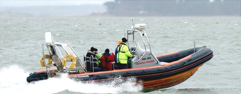 JML RIB Rigid Inflatable Workboat