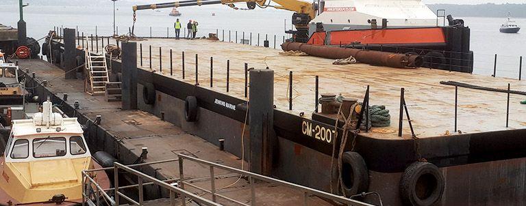 Deck cargo Barge cm2007