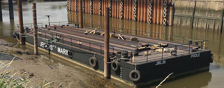 Deck Cargo barge JML30